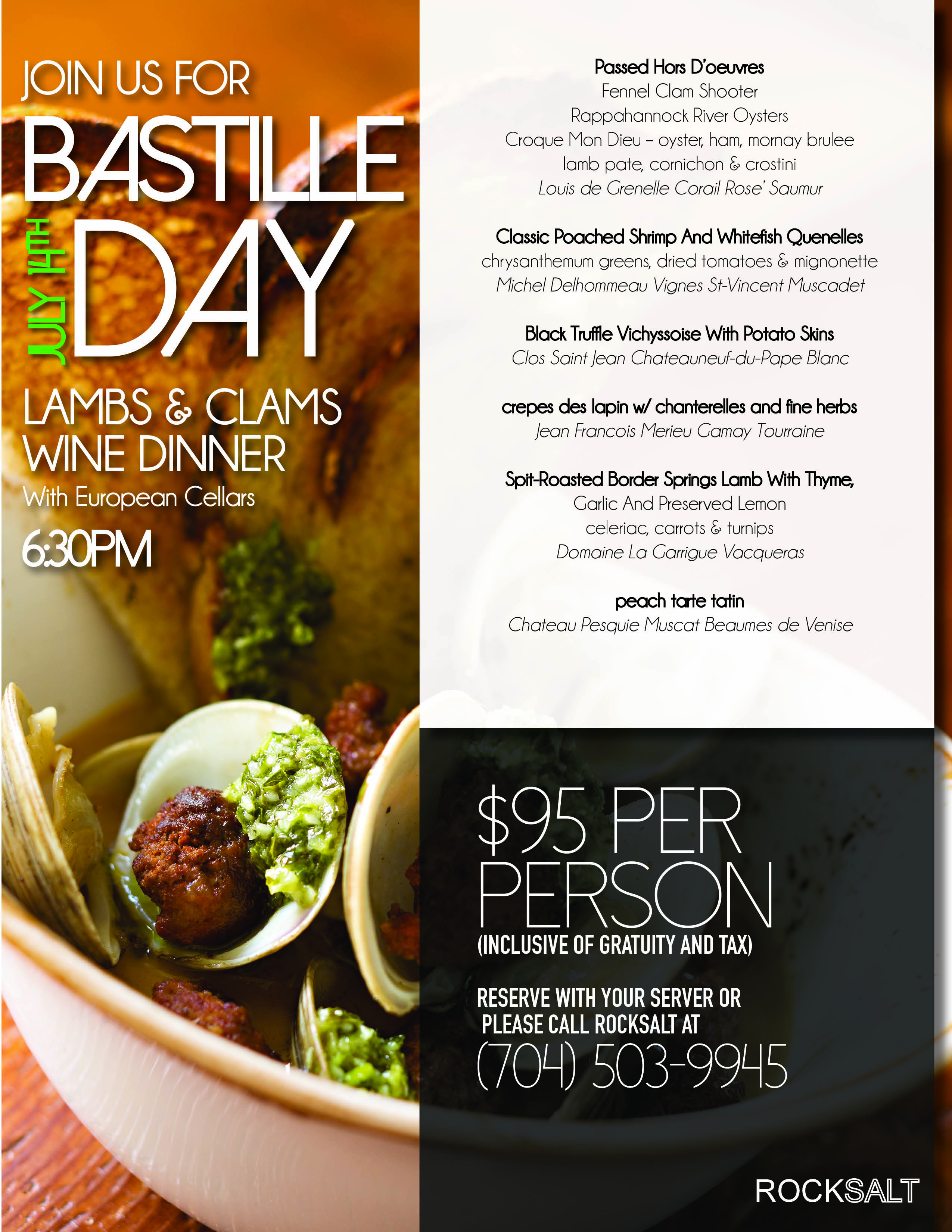 Bastille Day July 14th!
